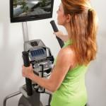 spiritfitness baltic CE800 elliptical trainer TV