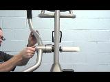 spiritfitness baltic elliptical trainer 2012 2013 assembly step 2