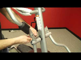 spiritfitness baltic elliptical trainer 2013 assembly video step 3