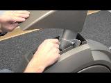 spiritfitness baltic x series elliptical trainer loose console mast