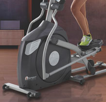 spirit fitness elliptical trainers